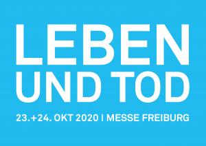 Ganz in Blau – das offizielle Logo der LEBEN UND TOD Freiburg